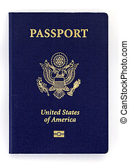 new passport - new biometric us passport with enbeded chip