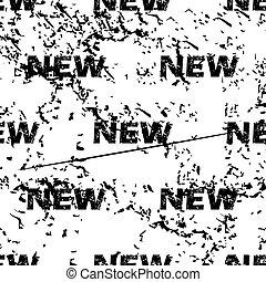NEW pattern grunge, monochrome
