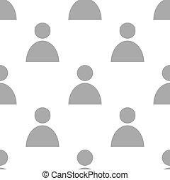 New People seamless pattern