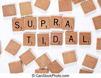 New phrase: Supratidal