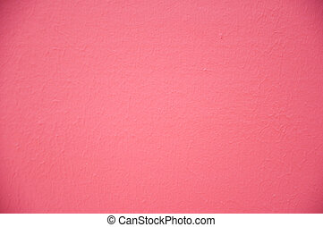 New pink wall