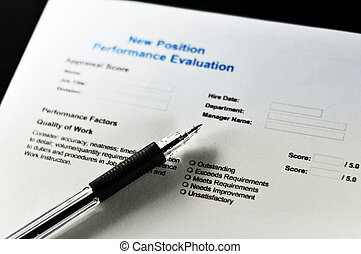 New Position Performance Evaluation