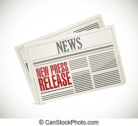 new press release newspaper