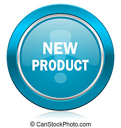 new product blue icon