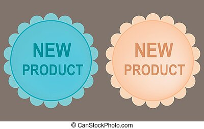 New product buttons