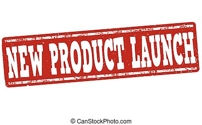 New product launch stamp - New product launch grunge rubber...