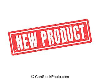new product red stamp style
