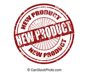 new product stamp - Grunge rubber stamp with the text new ...