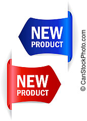 New product vector tags