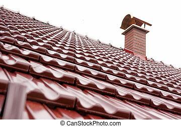New red chimney