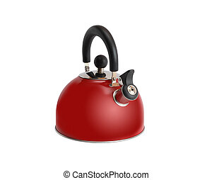 New Red Kettle