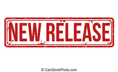 New Release stamp - New Release grunge rubber stamp on...