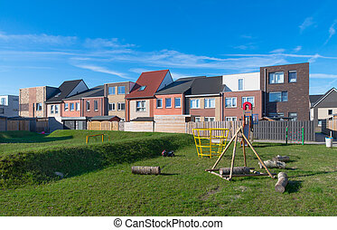 new residential area