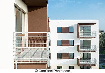 New residential block