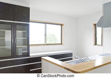 New residential kitchen