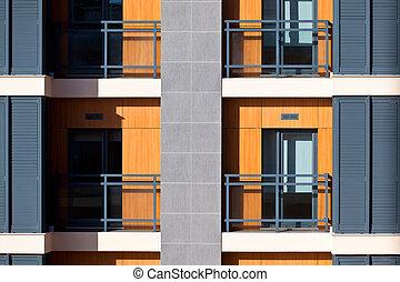 New Resort Apartment House Detail