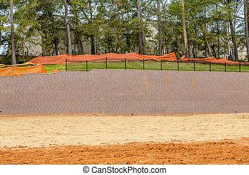 New Retaining Wall Construction