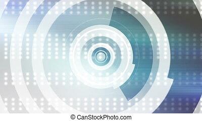 New Retro shapes abstract backdrop