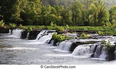 New River Waterfall Loop - Loop features a beautiful wide...
