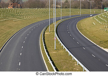A new road in the south of England