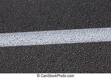 new road , close-up