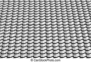 New roof metal tile