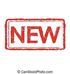 New rubber stamp illustration