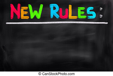 New Rules Concept