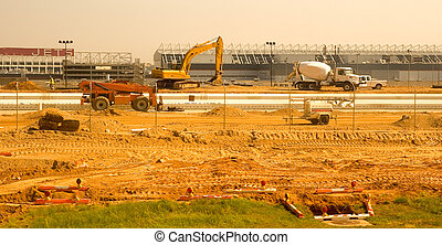 New Runway Construction - Runway Construction project at a...