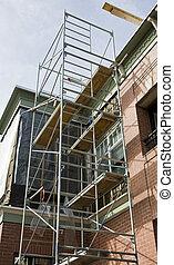 New Scaffolding on Bricks