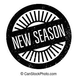 New Season rubber stamp
