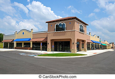 New Shopping Center with Commercial and Retail Space ...