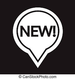New sign icon