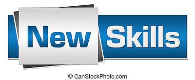 New Skills Blue Grey Horizontal