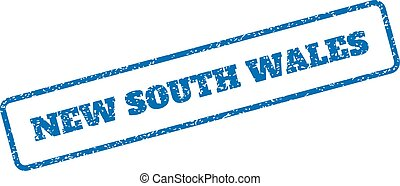 New South Wales Rubber Stamp