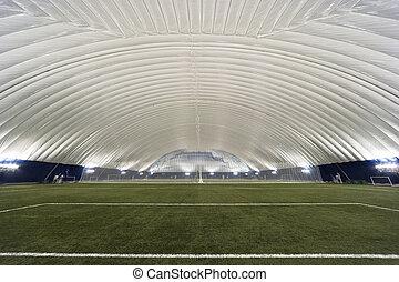 New Sports Dome interior - Interior view of a multi-sport...