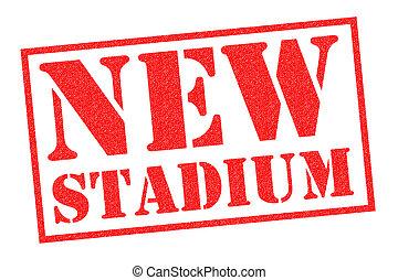 NEW STADIUM Rubber Stamp