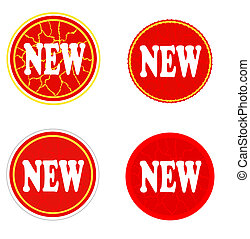 New stickers with crack.