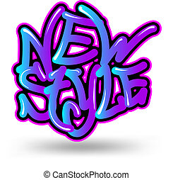 new style graffiti - Youth Culture, Urban Scene, graffiti...