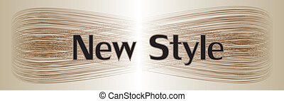new style vector background