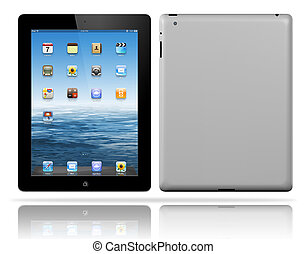 new tablet pc black