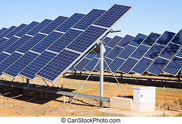 electric solar panels