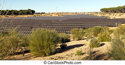 solar panel system - New technology of energy production:...