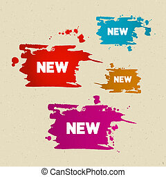 New Titles on Colorful Splashes