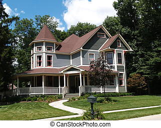 New Two Story Victorian Historical - New two story Victorian...