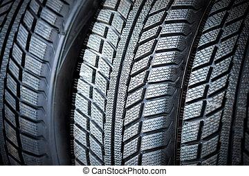 new tyres texture