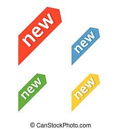new., vector., segno