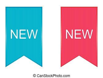 new., vector., zeichen