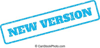 New Version Rubber Stamp