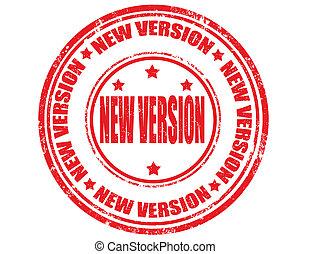 New version-stamp